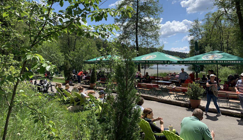 Liegewiese am Ebnisee