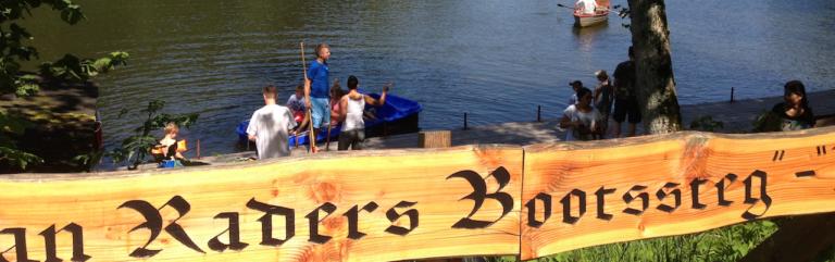 Eingang zur Bootsvermietung am Ebnisee